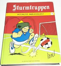 STURMTRUPPEN ASSALTO MONDIALEN N.1 BONVI Book Comic Toy 2006 Libro Fumetto Lotto