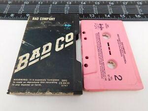 Slip Case Bad Company Cassette Self Titled Audio Tape CS-8410