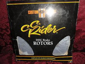 Custom-Chrome-Harley-Davidson-Disc-Brake-Rotors-OEM-44136-84-Fits-84-91