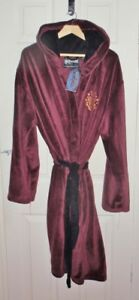 Bnwt Primark Mens Harry Potter Burgundy Hooded Dressing Gown