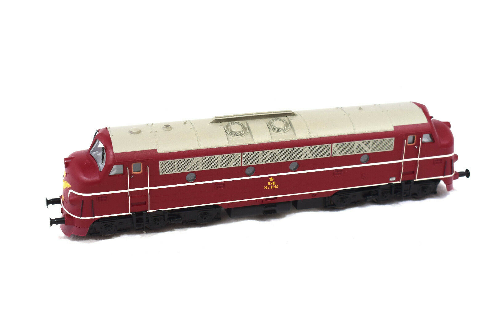 Heljan 4420 Spur H0, Diesellokomotive My 1100 der DSB, Ep. III, digital