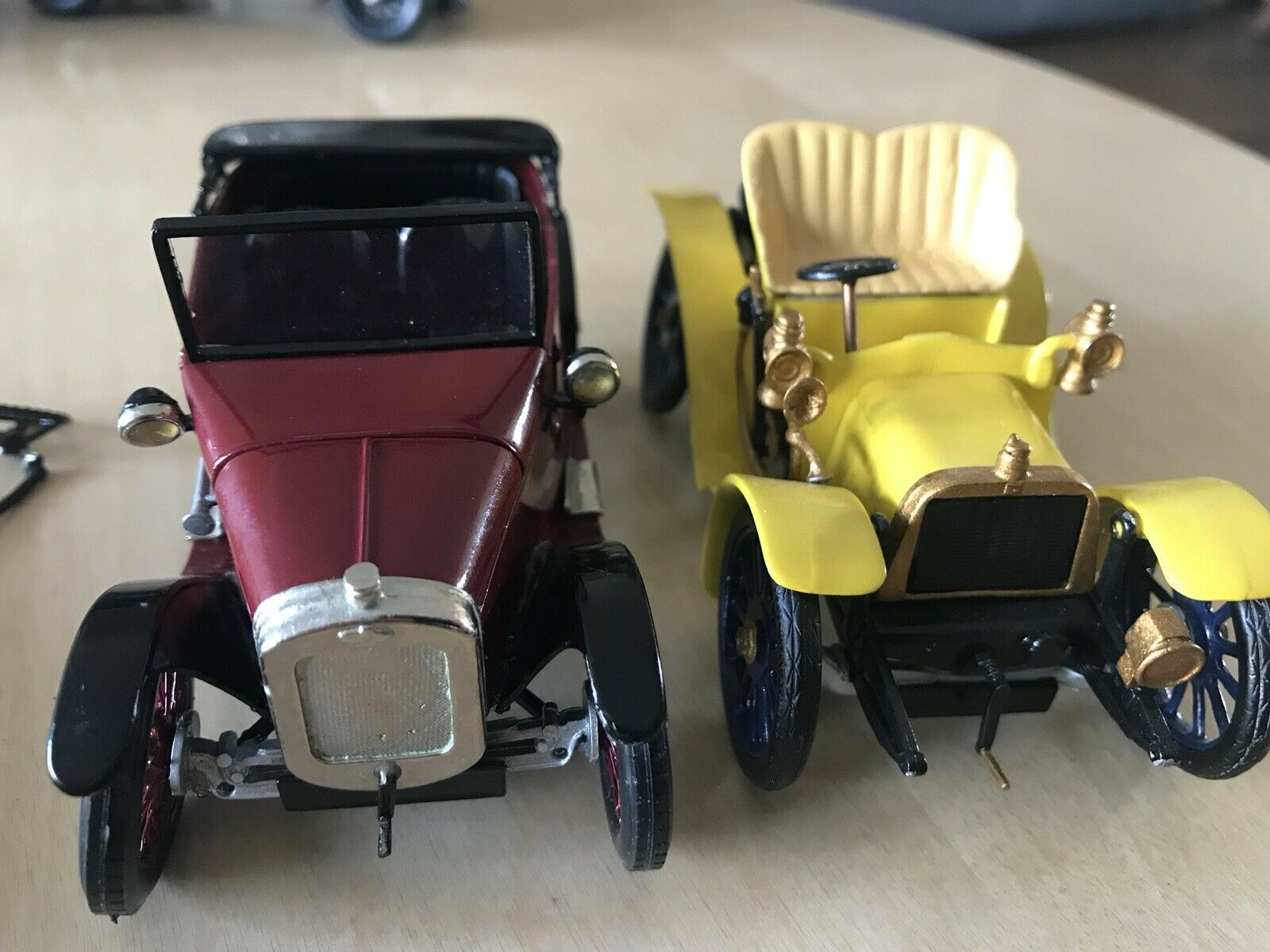 2 X HAND BUILT MADE SOUTH EASTERN FINECAST AUSTIN 7  EXAKTA DARRACQ 1 24