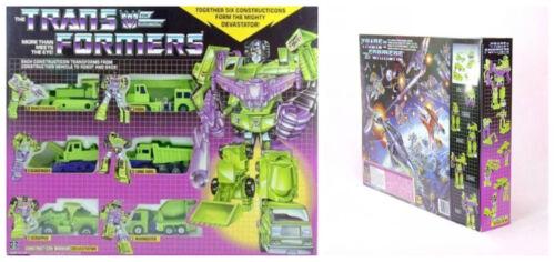 Transformers G1 devastator long haul Scrapper Avenger Kids Gift Toy New Hot