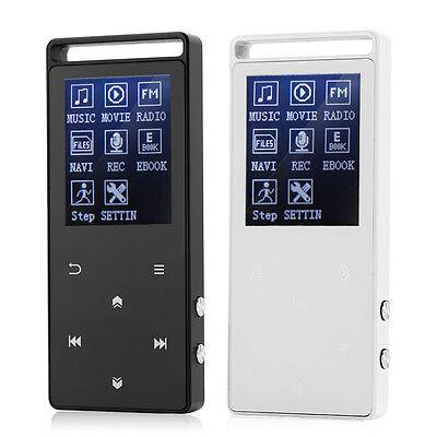 Portable 8GB Bluetooth FM Radio Recording APE FLAC OGG Lossless Music MP3 MP4 AF