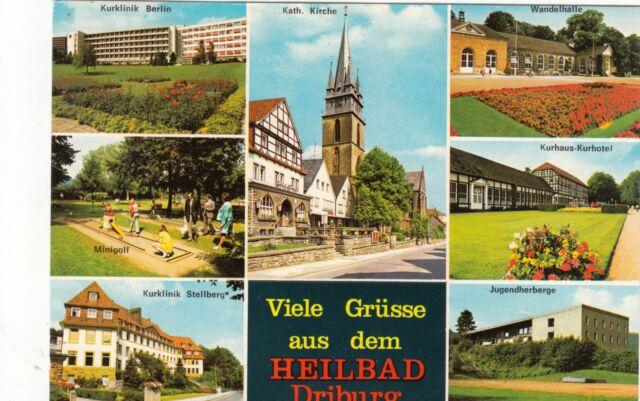 Heilbad Driburg , Ansichtskarte, 1977 gelaufen