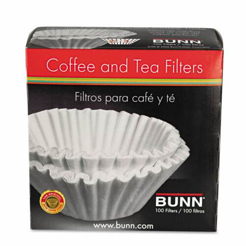 BUNN Coffee Filters 8//10-Cup Size 100//Pack 12 Packs//Carton BCF100BCT