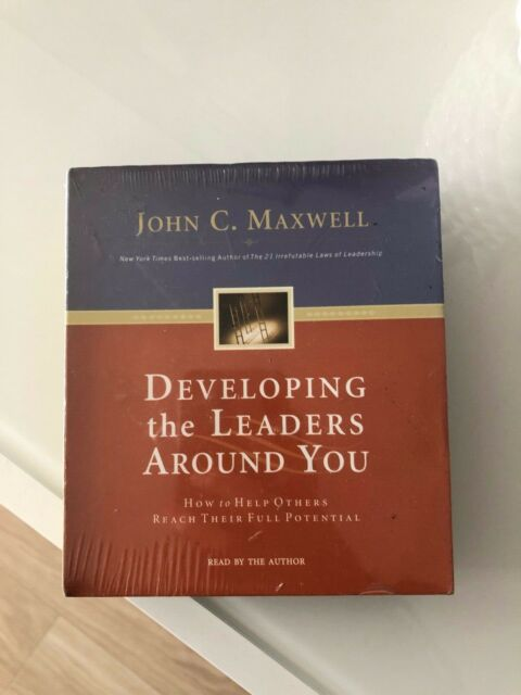 DEVELOPING THE LEADERS AROUND YOU 2 AUDIO CD SET - NEW SEALED - JOHN C MAXWELL