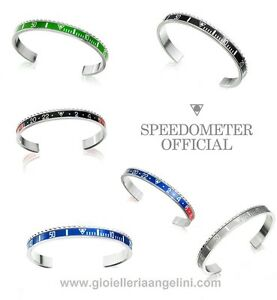 SPEEDOMETER-OFFICIAL-BRACCIALE-GHIERA-BRACELET-BANGLE-BEZEL-ORIGINAL