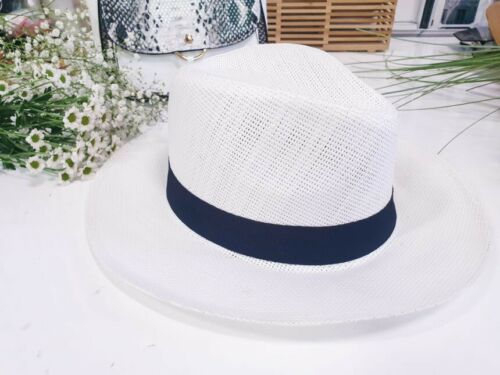 Panamahut Strohhut Trilby Hut Gartenhut Hutband Sommerhut Strandhut  Damen