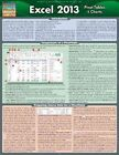 Excel 2013 Pivot Tables & Charts 9781423222910 by BarCharts Inc Poster