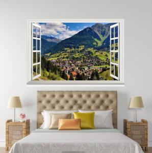 3D Lawn Halmet 46 Open Windows WallPaper Murals Wall Print Decal Deco AJ Summer