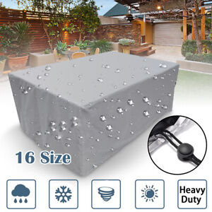 Outdoor-Cover-Garden-Furniture-Waterproof-Patio-Rattan-Table-Chair-Cube-Set-Park