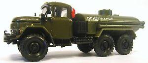 1-43-Scale-ELECON-ZIL-131-6-x-6-Army-Fuel-Tanker-USSR-Green-MIB