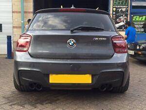 BMW ID FF QUAD TIP CONVERSIONSTAINLESS STEEL EBay - Bmw 135