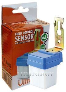 Interruttore sensore crepuscolare mini da 6a 220v per for Lampade led 220v