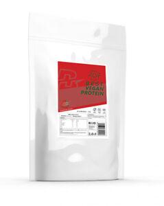 BEST Vegan Protein Powder 1kg Plant Based Hemp Pea Isolate Low Sugar Low Fat