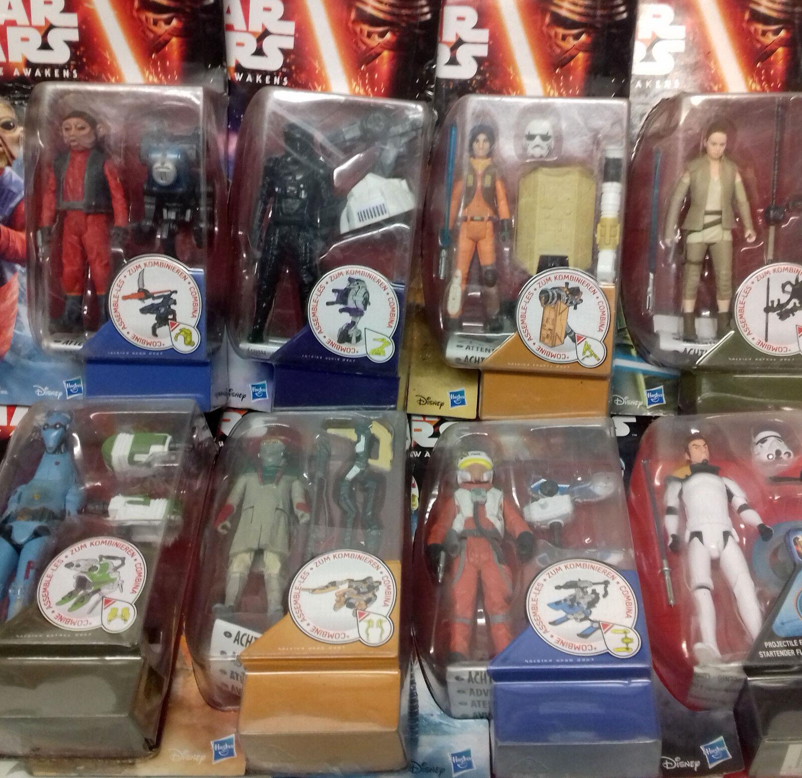 HASBRO Star Wars 3.75  Giocattolo Action Figure DANNEGGIATO scatole BULK AFFARE LOTTO