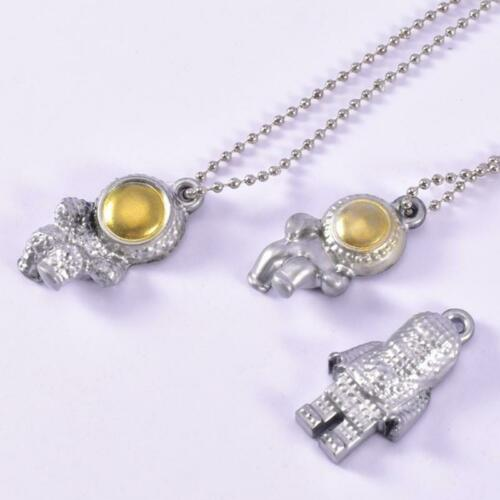 Crystal Epoxy Resin Astronaut Key Pendant Silicone Mold Mould DIY Jewelry Tool