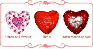 Valentines-Day-Love-Party-Gift-Supplies-45cm-Printed-Heart-Foil-Balloon
