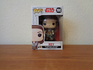 Funko Star Wars The Last Jedi POP Rey #190 Vinyl Figure NEW Toys IN STOCK