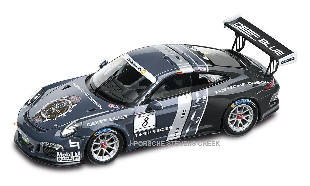 PORSCHE 911 GT3 Cup DIECAST MODEL 1 43 SCALE Porsche Design Limited Edition voiture