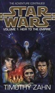 Star-Wars-Volume-1-Heir-to-the-Empire-by-Zahn-Timothy-Paperback-Book-The