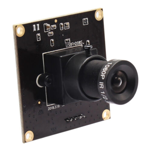 ELP 2Megapixel High Speed 60fps//120fps//260fps USB2.0 Camera Module with 8mm Lens