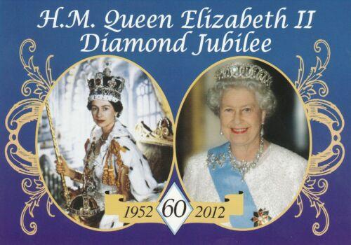 ***ORIGINAL POSTCARD***KÖNIGIN ELIZABETH-WINDSOR-Adel-Royal-DIAMOND JUBILEE-2012