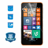 5X Crystal Clear 3H Anti-scratch Screen Protector for NOKIA LUMIA 630 Saver df