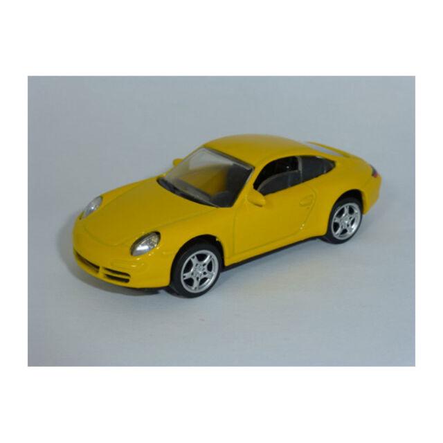 NOREV 319000 Porsche 997 CARRERA JAUNE - Showroom échelle 1:64 NOUVEAU ! °