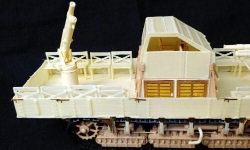 resin set 1//35 PanzerShop PS35290 Meng Uberlandwagen A7V w//7,62cm AA guns conv