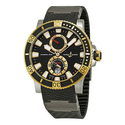 Ulysse Nardin Maxi Marine Diver Titanium and 18kt Yellow Gold Mens Watch