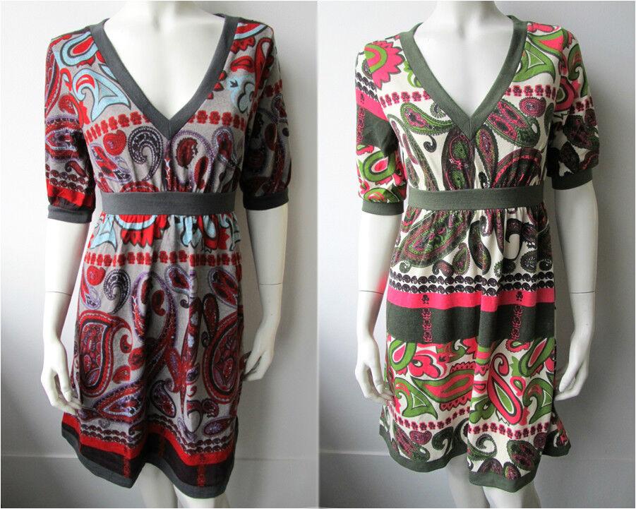 Dept Damen Tunika Kleid Kleed Jurk Dress 002 Off White Dawn Grey Neu XS S M L