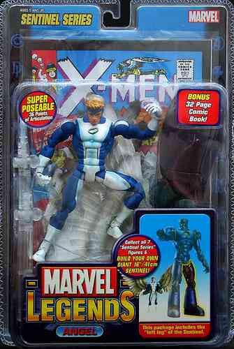 Marvel - legenden collection_angel 6  - variante figure_Blau und Weiß_sentinel serie