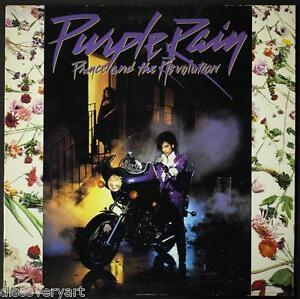 Image Is Loading Prince Purple Rain 1984 Album Art Stretch Canvas