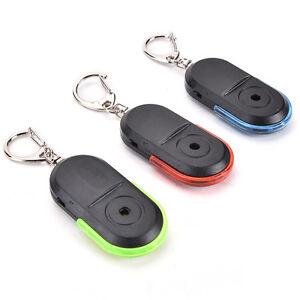 Cool-Anti-Lost-Alarm-Key-Finder-Locator-Keychain-Whistle-Sound-LED-Light-2016-JP