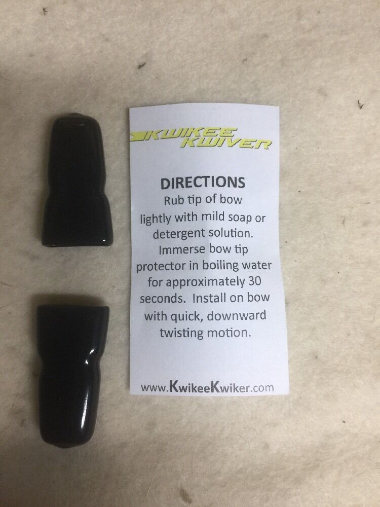 Recurve Kwikee Kwiver 2 Per Pack Rubber Bow Tip Protector