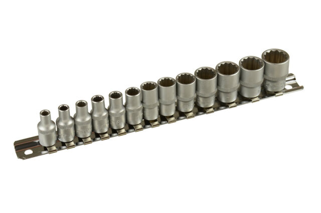 "Vasos con 12 Caras 1/4""  4 mm - 14 mm - Bgs 2269"