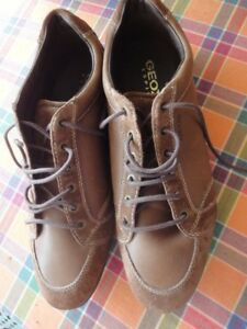 Uomo Pelle Marroni Scarpe E Geox Camoscio U34a5d N° Sneakers 45 xIwTaq