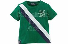 SFK Ralph Lauren Baby Boys' Short Sleeve Tee Athletic Green shirt RL tshirt