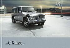 Mercedes G Klasse Prospekt 3 08 78 S. brochure 2008 Auto PKW Deutschland Verkehr