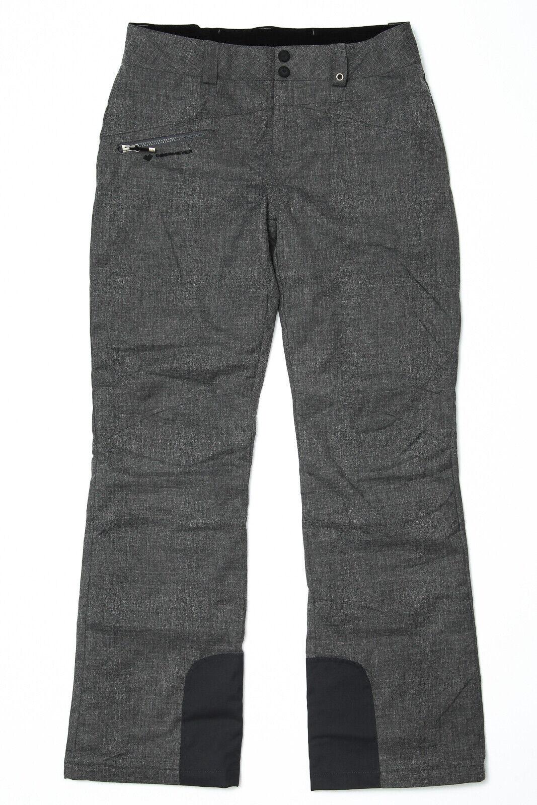 Obermeyer Malta Ski Snow Pants Charcoal grau - damen Sz 10 Long