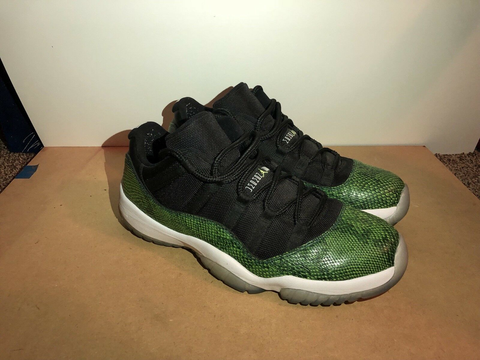 Air Jordan Retro Low 11's Snake