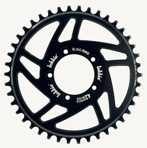 Lekkie Bling Ring Bafang Mid Drive EBike Chainring 28T 36T 42T 46T 52T BBS