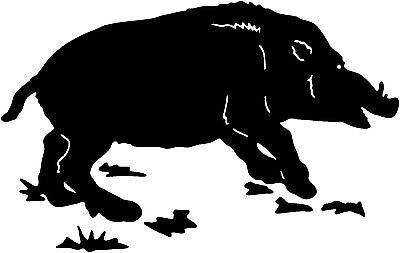 Fox Tracks Decal STOA #2 Wildlife Outdoors Hunting Window Sticker