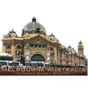 Flinders Street Station Magnet