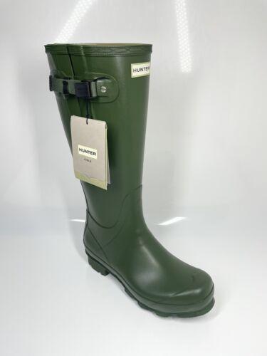 Men/'s Hunter Adjustable Norris Boots UK11 EU45//46 Vintage Green Wellies