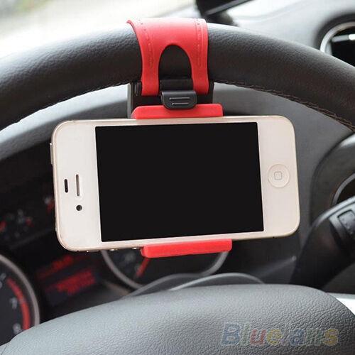Alta calidad coche volante soporte goma soporte para teléfono móvil GPS