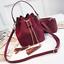 2019 New Mini Crossbody Handbags Cute Suede Bucket Bag Organizer Small Tassel PU