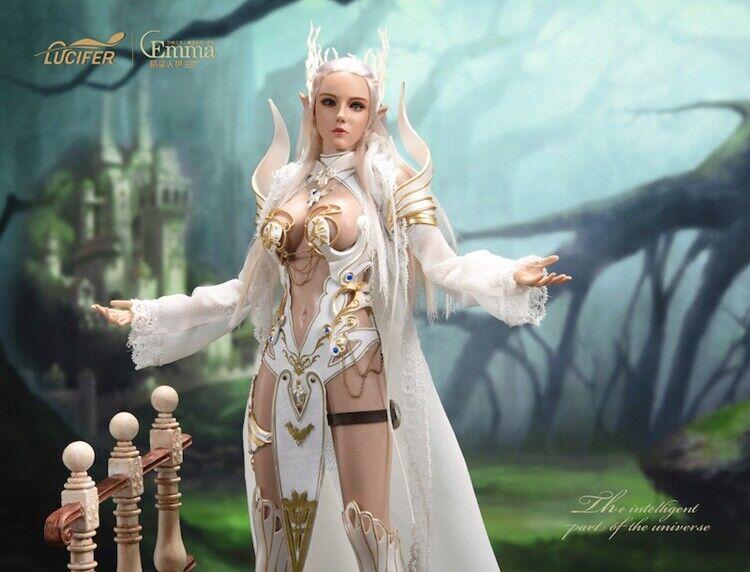 1 6 LUCIFER LXF1904B Elf Queen Emma Action Figure Armor Ver. Collectible